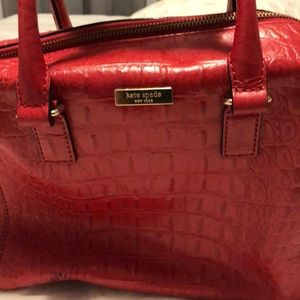 Merry Christmas Red Kate Spade purse
